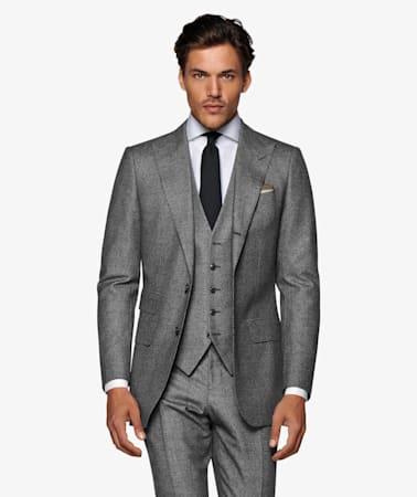 Washington Grey Houndstooth Suit