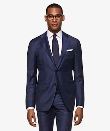 La Spalla Blue Stripe Suit