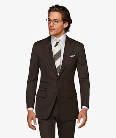 Dark Brown Washington Suit