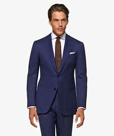 Mid Blue Havana Suit