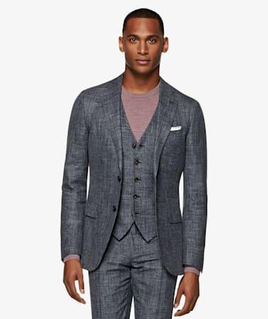 Mid Grey Lazio Suit