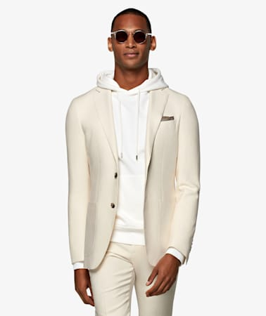 Off White Havana Suit