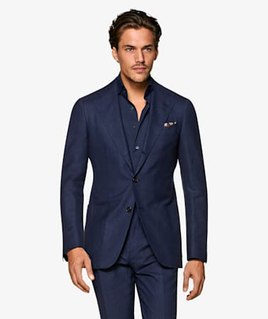 Navy Havana Suit