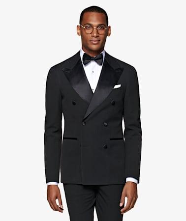 Black Havana Tuxedo Suit