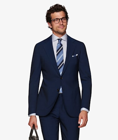 Navy Jort Suit