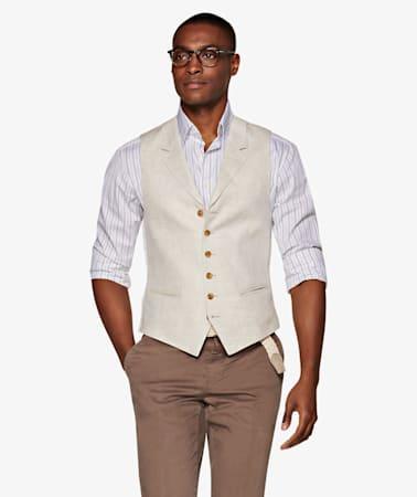 Light Brown Waistcoat
