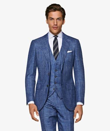 Mid Blue Waistcoat