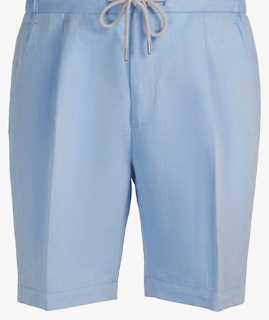 Light Blue Drawstring Ames Shorts