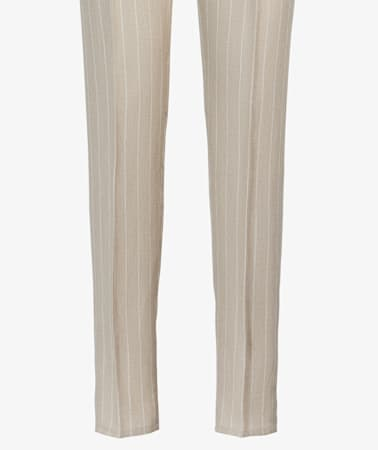Beige Drawstring Ames Trousers