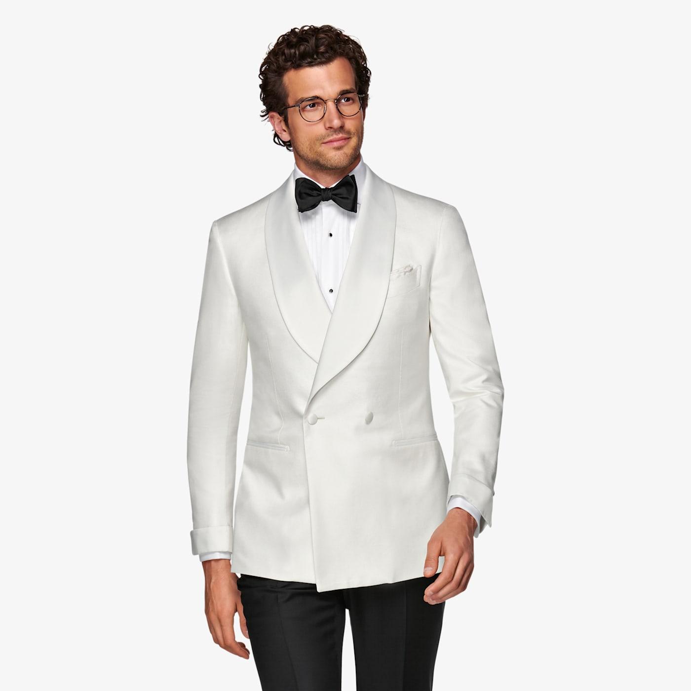 New Vintage Tuxedos, Tailcoats, Morning Suits, Dinner Jackets White Washington Tuxedo Jacket $399.00 AT vintagedancer.com