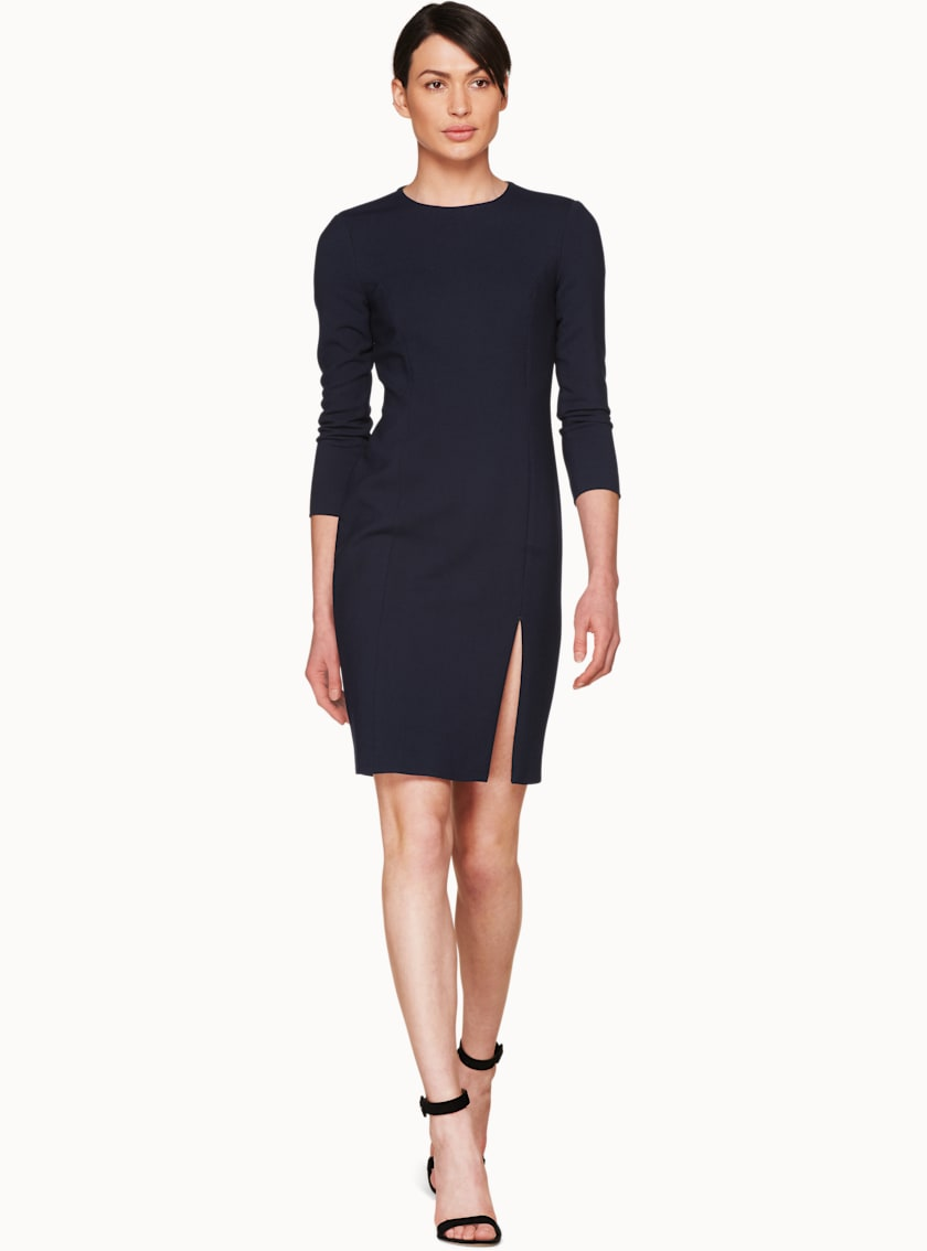 Asia Navy  Bodycon Dress