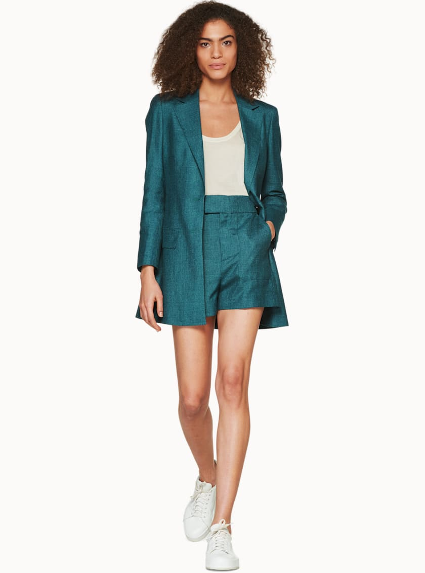 Tory Teal  Jacket