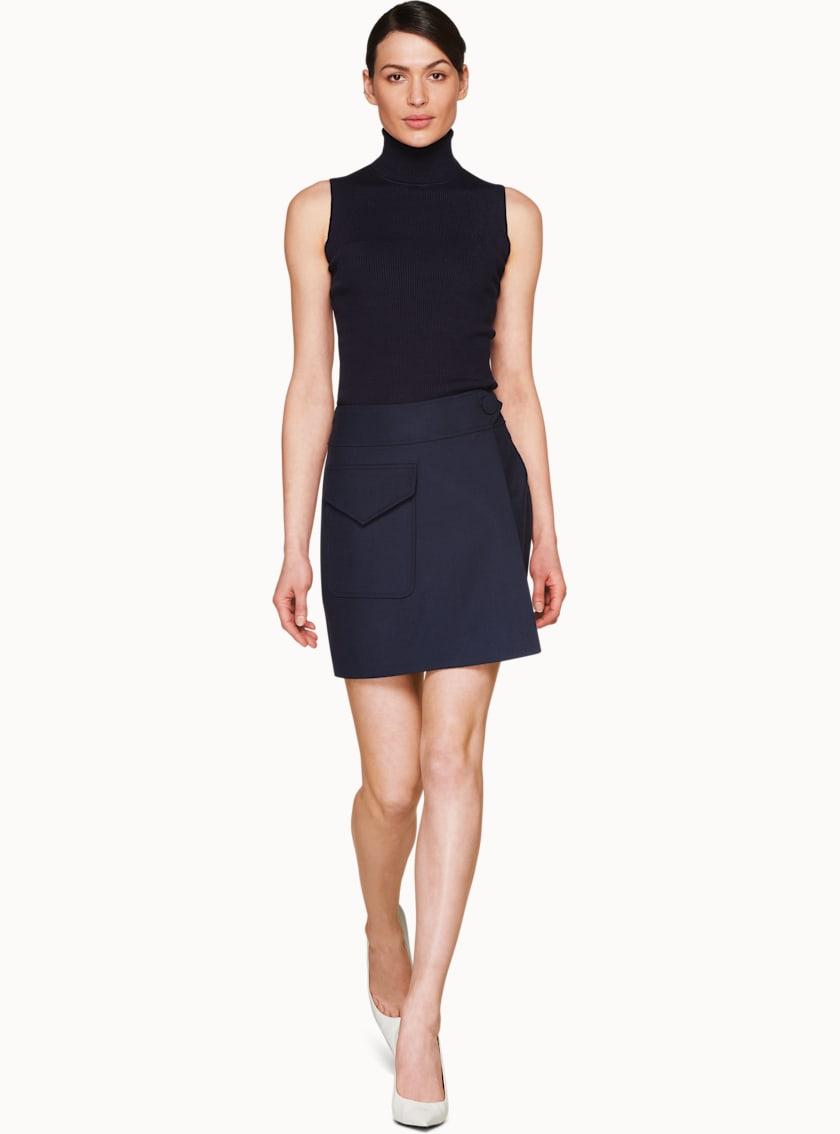 Darwin Navy  Skirt