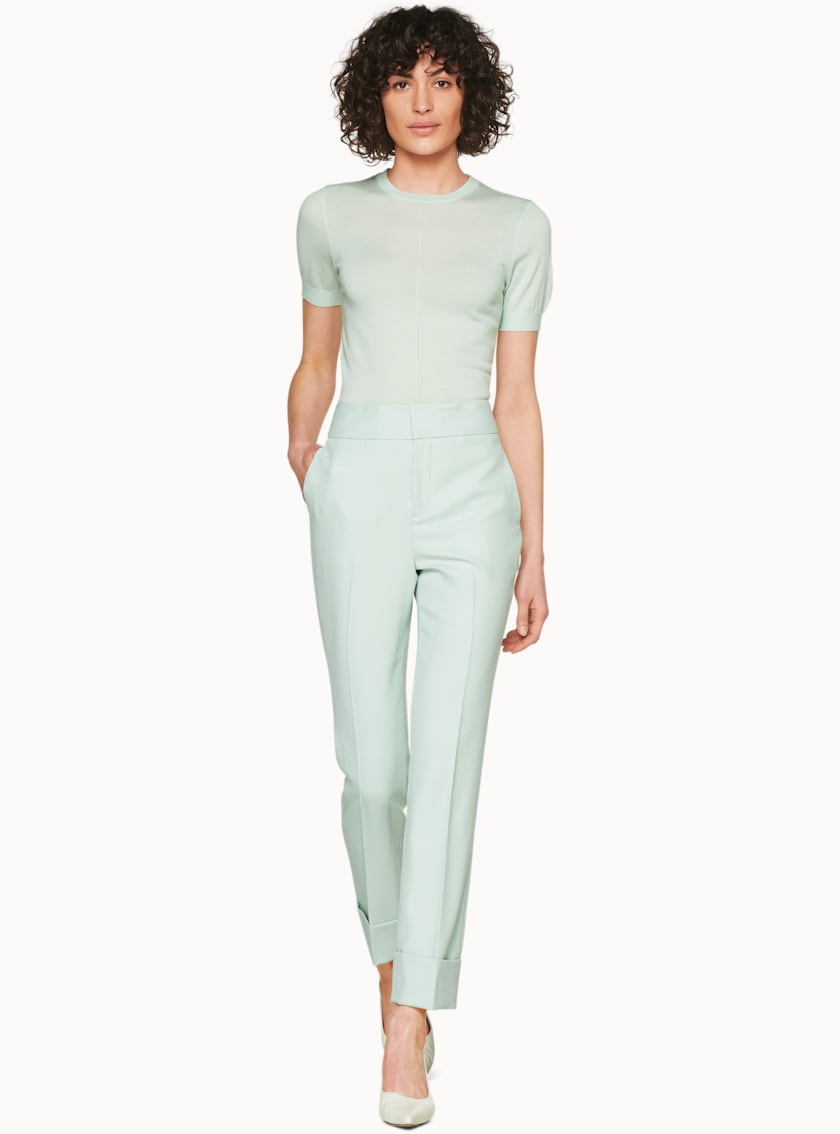 Lane Mint  Trousers