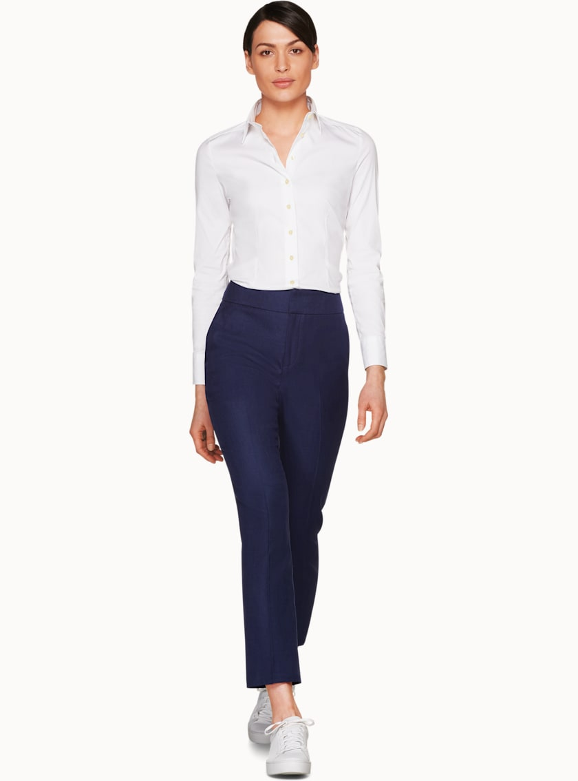 Lane Navy  Trousers