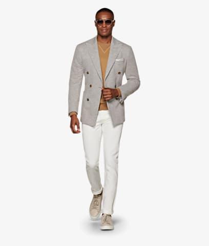 Jacket_Light_Grey_Plain_Havana_C1319