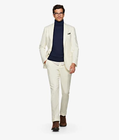 Suit_Off_White_Plain_Jort_P5597I