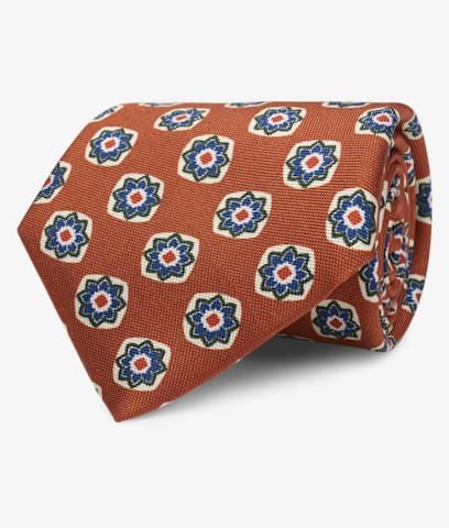 Orange_Flower_Tie_D191053