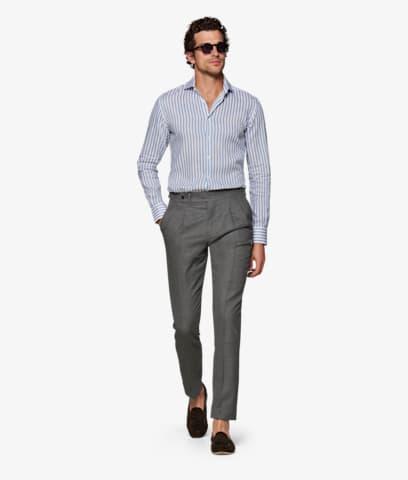 Grey_Bolzano_Double_Pleat_Trousers_B1122