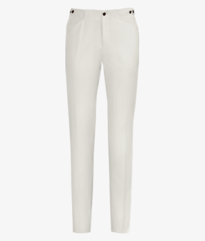 White_Jort_Casual_Trousers_B1201