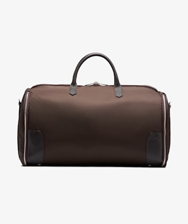 Brown Holdall Suit Carrier
