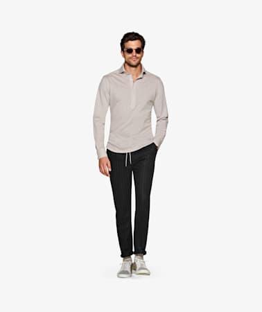 Brown_Knitted_Shirt_Polo_Single_Cuff_H5818U