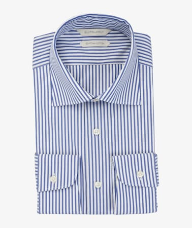 Navy_Stripe_Poplin_Shirt_Single_Cuff_H5953U