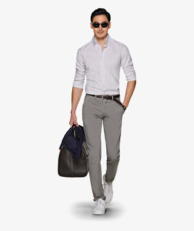 Multicolor_Stripe_Shirt_Single_Cuff_H5962U