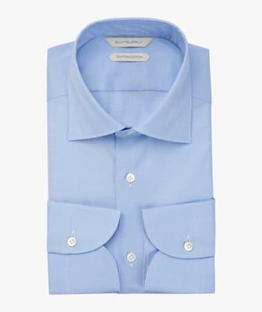 Blue_Check_Shirt_Single_Cuff_H5981BU