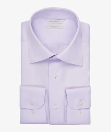 Lilac Oxford Traveller Shirt