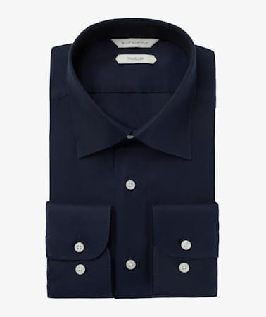 Navy Oxford Traveller Shirt