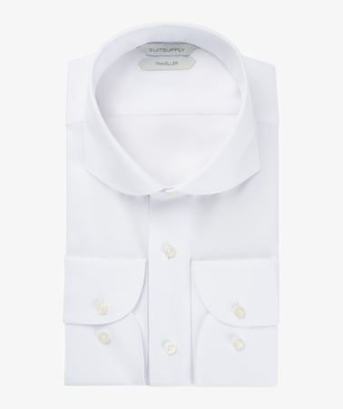 White_Oxford_Traveller_Shirt_Single_Cuff_H9017U