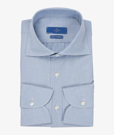 Jort_Blue_Flannel_Shirt_Single_Cuff_SH115-J