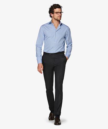 Jort Blue Stripe Shirt