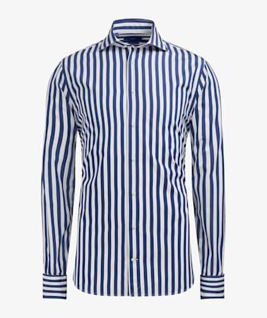 Jort Navy Stripe Shirt