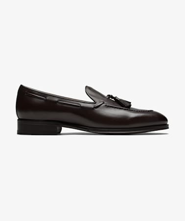Brown Tassel Loafer