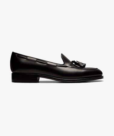 Black Tassel Loafer