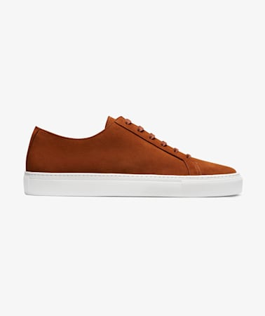 Brown Unlined Sneakers