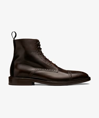 Brown Brogue Boot