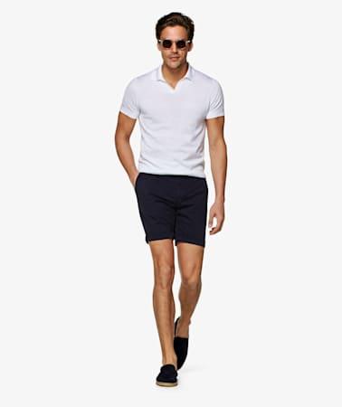 Navy  Porto Shorts