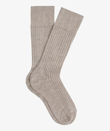 Light Brown Regular Socks