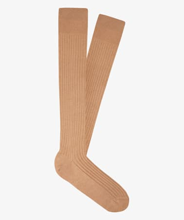 Camel Knee high Socks