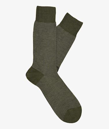 Green Regular Socks