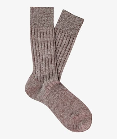 Brown Regular Socks