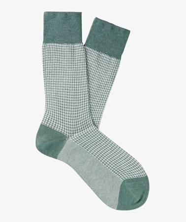 Green_Regular_Socks_O754
