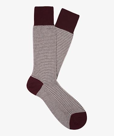 Red Long length Socks