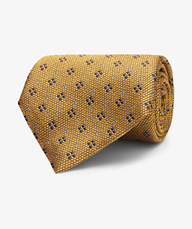 Yellow Flower Tie