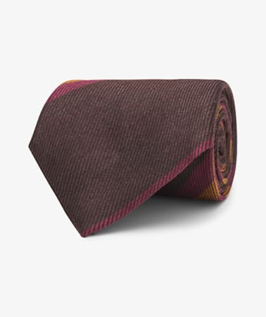 Purple Stripe Tie