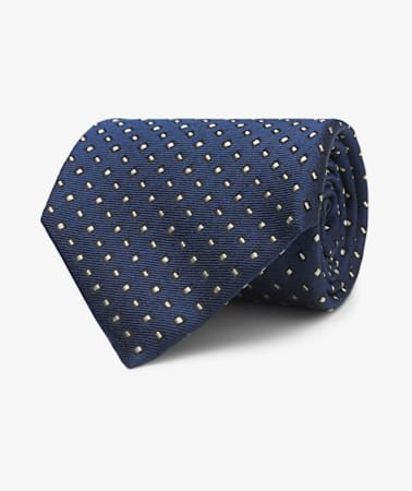 Navy Graphic Tie