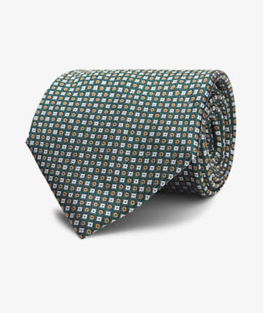 Green Graphic Tie